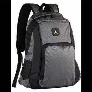 Nike Jordan Jumpman Backpack Gray Elephant Print